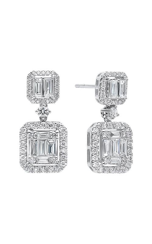 Albert's 14k White Gold 1 1/3ctw Diamond Earrings ER10114-4WB product image