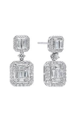 Albert's 14k White Gold 1 1/3ctw Diamond Earrings ER10114-4WB product image