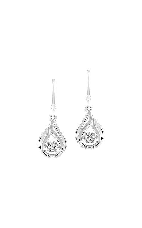 Albert's Sterling Silver Teardrop Earrings ER10310-SSW product image