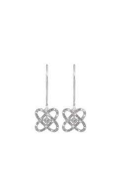 Albert's Sterling Silver 1/4ctw Diamond Earrings ER10446-4SS product image