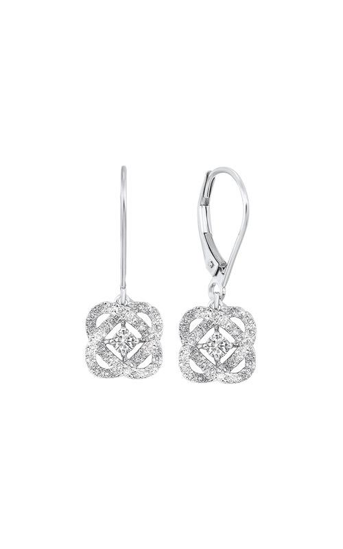 Albert's 14k White Gold 1/4ctw Diamond Earrings ER10446-4WF product image