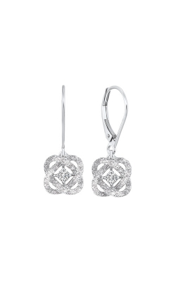 Albert's 14k White Gold 1/4ctw Diamond Earrings ER10446-4WF product image