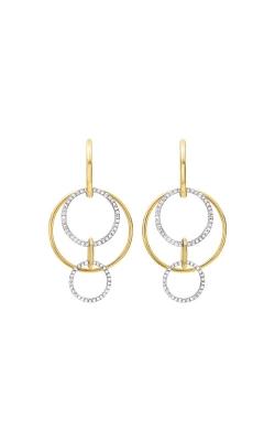 Albert's 14k Yellow Gold 1/2ctw Diamond Earrings ER10490-4YC product image