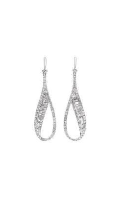 Albert's 14k White Gold 3/4ctw Diamond Dangle Earrings ER10500-4WC product image