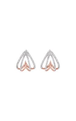 Albert's 14k Rose Gold 1/4ctw Diamond Earrings ER10504-1PD product image
