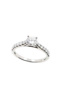Albert's 14k White Gold .80ctw Round Diamond Engagement Ring ER11046-R052A-S product image