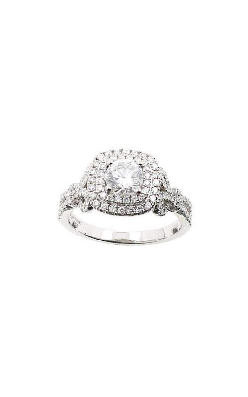 Albert's 14k 1.04ctw Round Diamond Engagement Ring ER11083-CR052A-S product image