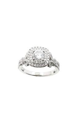 Albert's 14k 1.04ctw Round Diamond Engagement Ring ER11083-CR052A-S product image