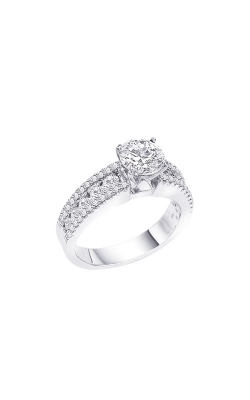 Albert's 14k White Gold 2.28ctw Round Diamond Engagement Ring ER1732-14W product image