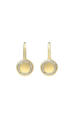 Albert's 14k Yellow Gold Diamond Disc Earrings ER22496-1YSC product image