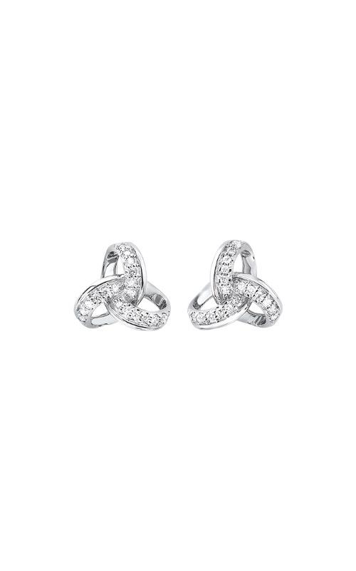 Albert's 14k White Gold 1/10ctw Diamond Earrings ER28825-1WSC product image