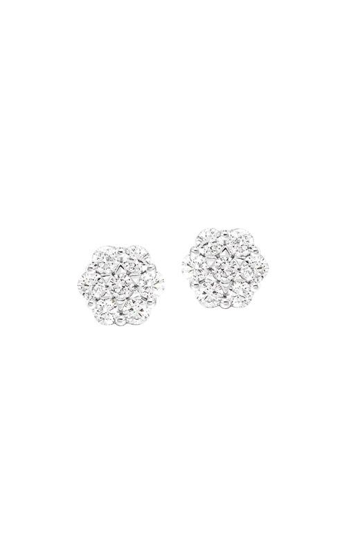 Albert's 14k White Gold 1/2ctw Diamond Bouquet Stud Earrings ER29580-4WH product image