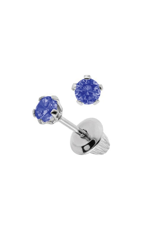 Albert's Sterling Silver Child Sapphire Stud Earrings ES38509 product image
