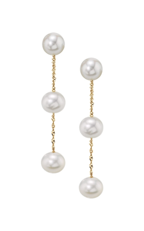 Albert's 14k Yellow Gold Freshwater Pearl Drop Earrings EY00642PF product image