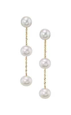 Albert's 14k Yellow Gold Freshwater Pearl Drop Earrings EY00642PF product image