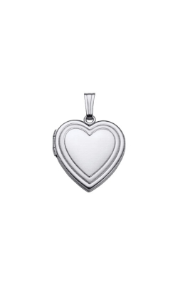 Albert's Sterling Silver Heart Locket F1001 product image
