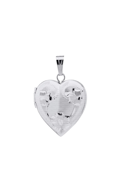 Albert's Sterling Silver Locket Necklace F370 product image