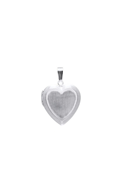 Albert's Sterling Silver Heart Locket F470 product image