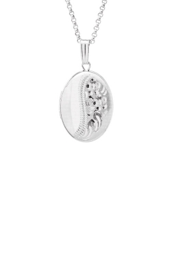 Albert's Sterling Silver Locket Necklace F472 product image