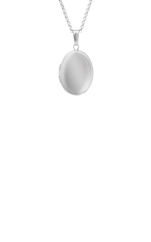 Albert's Sterling Silver Locket Necklace F691 product image
