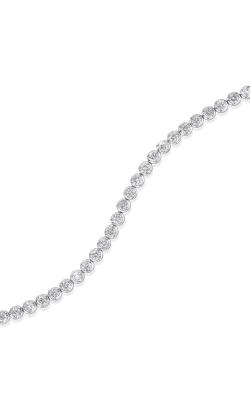 Albert's 14k White Gold 1ctw Diamond Bracelet FB1151 product image
