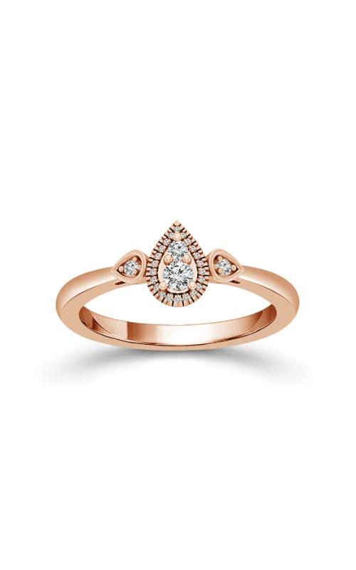 Albert's 10k Rose Gold 1/6ctw Diamond Promise Ring FSR0005A78POS product image