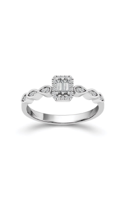 Albert's 10k White Gold 1/6ctw Diamond Promise Ring FSR0007A44WOS product image