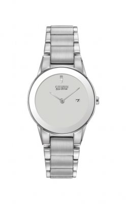 Citizen Ladies Axiom Eco-Drive Silver Dial Watch GA1050-51A product image