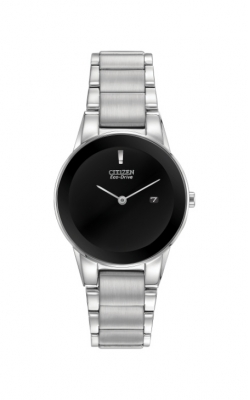 Citizen Ladies Axiom Eco-Drive Black Dial Watch GA1050-51E product image