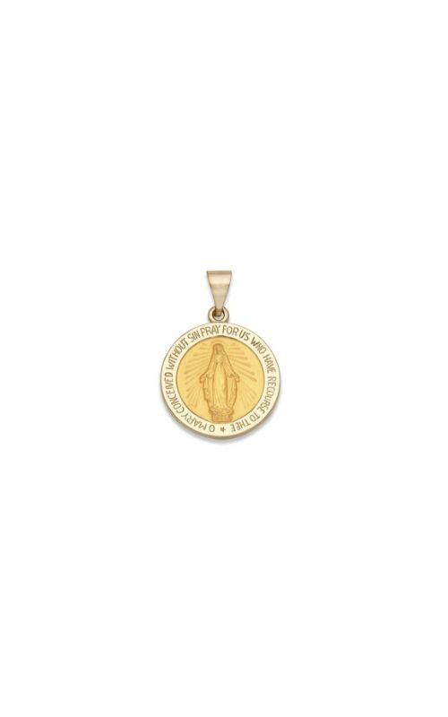 Albert's 14k Yellow Gold Saint Mary Charm M33HO product image