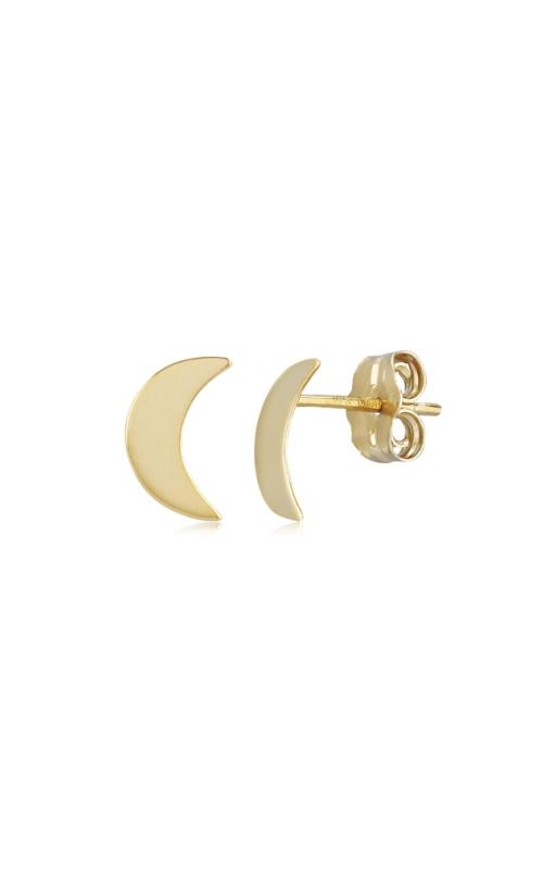 Albert's 14k Yellow Gold Moon Earrings 02/257 product image