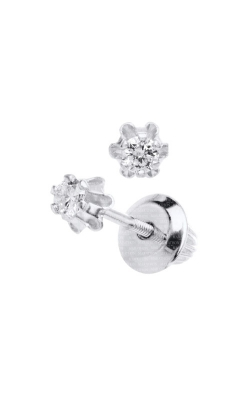 Albert's 14k .08ctw Child Diamond Stud Earrings GEW108 product image