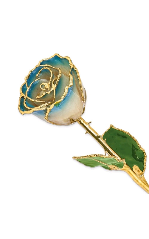 Albert's Gold Dipped White and Navy Rose GM3731 product image