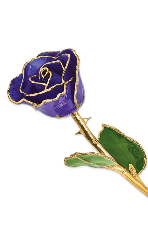 Albert's Gold Dipped Blue Violet Rose GM3736 product image