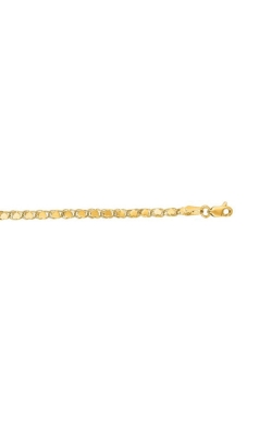 Albert's 14k Yellow Gold 10 Inch Heart Anklet HC1 product image