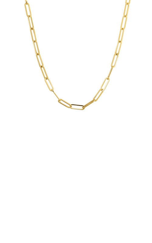 Albert's 14k Yellow Gold 24in Link Chain Necklace HCLP070-24LC product image