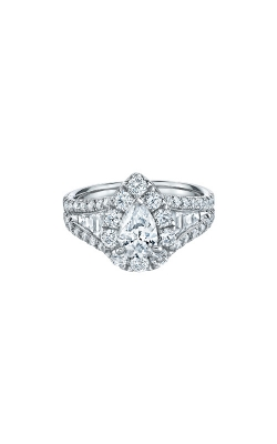 Albert's 14k White Gold 1 1/2ctw Pear Diamond Engagement Ring IR250PE1145LJ2W product image