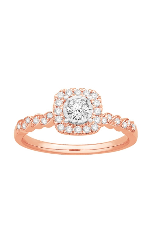 Albert's 10k Rose Gold Diamond Fashion Ring JG9883SC product image