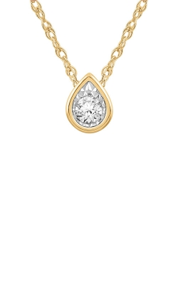Albert's 10k Yellow Gold Diamond Necklace JN9151 product image