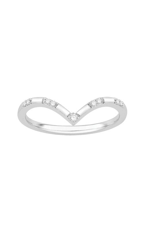 Albert's 10k White Gold Diamond Ring JW2543 product image