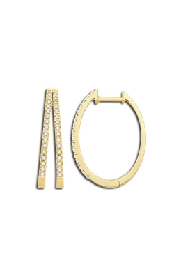 Albert's 10k Yellow Gold Hoop Earrings JX7930-FA10Y product image