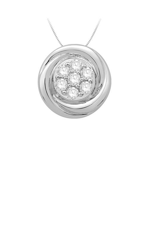 Albert's Silver Diamond Necklace JY1203 product image
