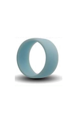 Albert's Light Blue Silicone Band Size 13 SILICONE13-LTBLU product image