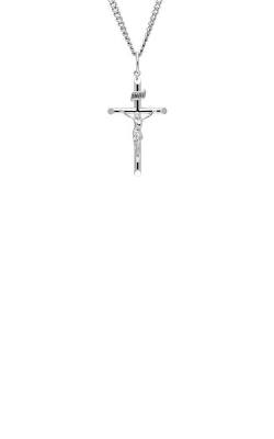Albert's Sterling Silver Cross Necklace MC112 product image