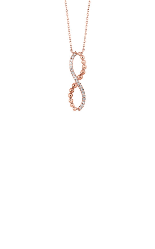 Albert's 14k Yellow Gold 1/10ctw Diamond Necklace NK10107-4PC product image