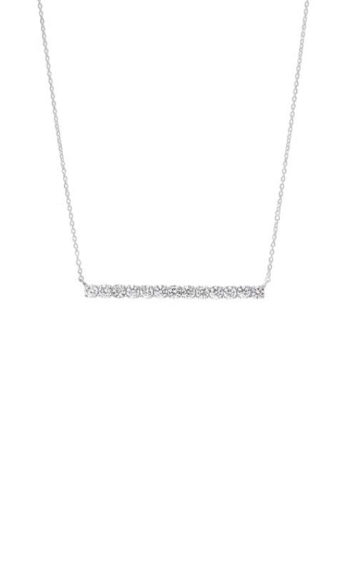 Albert's 14k White Gold 1/2ctw Diamond Bar Necklace NK10185-4WC product image