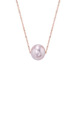 Albert's 14k Rose Gold Freshwater Pearl Pendant NR01989PF product image
