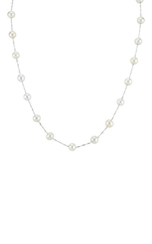 Albert's 14k White Gold Freshwater Pearl Necklace NW00642PF product image