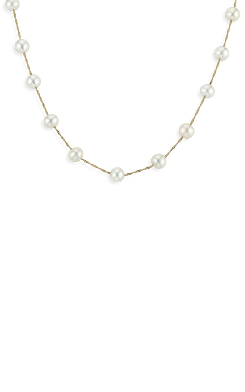 Albert's 14k Yellow Gold Freshwater Pearl Necklace NY00642PF product image