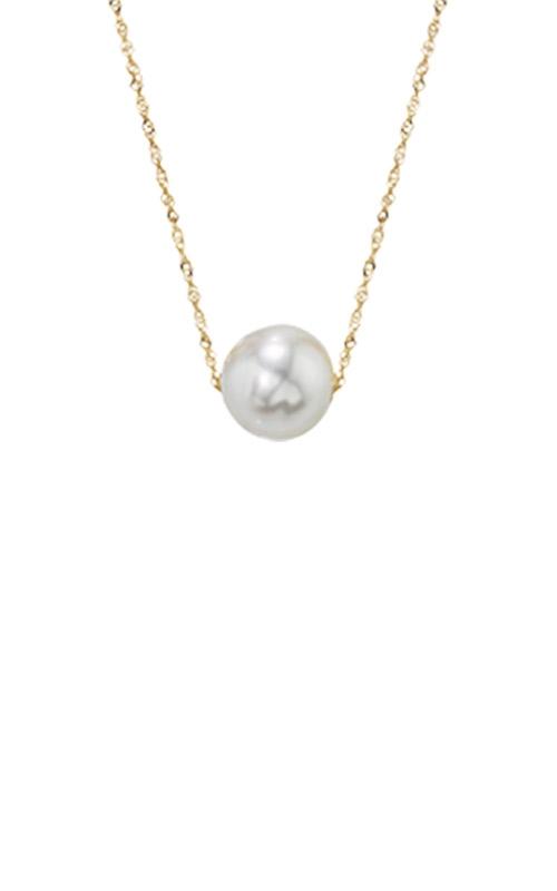 Albert's 14k Yellow Gold Freshwater Pearl Pendant NY01628PF product image